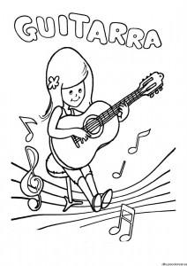 Guitarra para niñas y niños Ampa la Encina