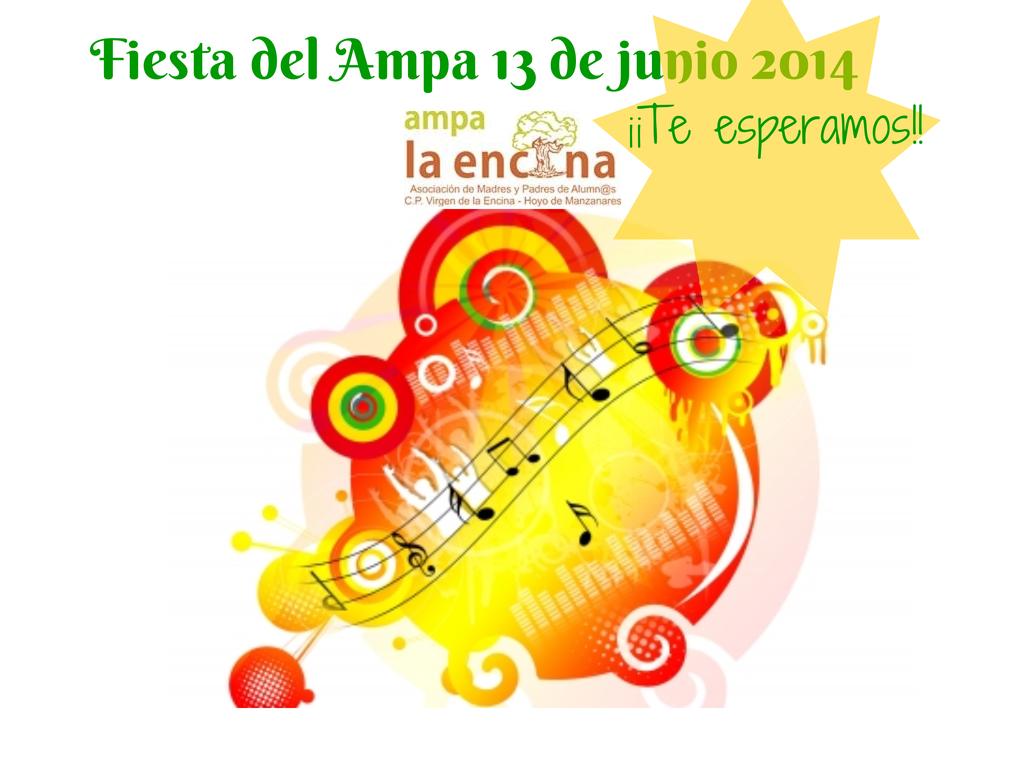 Fiesta del ampa 2014