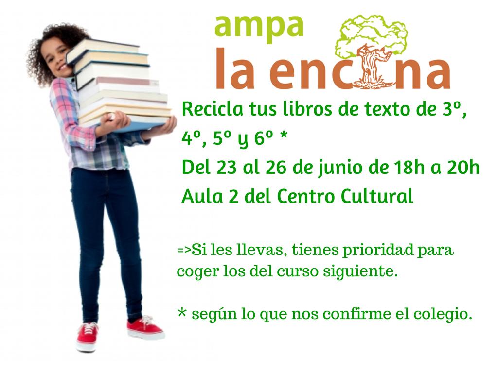 Publicidad 2014 recicla libros