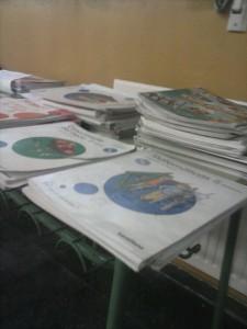 Operación libros reciclados libros de 5º sin atribuir